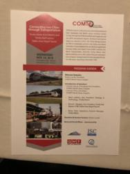 Trinity Metro, TRE, DART Connecting Communities Reception – November 14, 2018